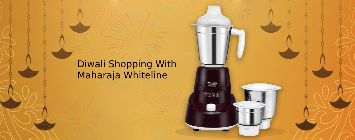 Diwali Shopping With Maharaja Whiteline